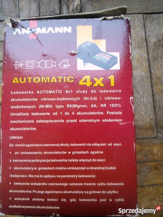 Ładowarka akumulatorków NiCd NiMH automatic Koszalin