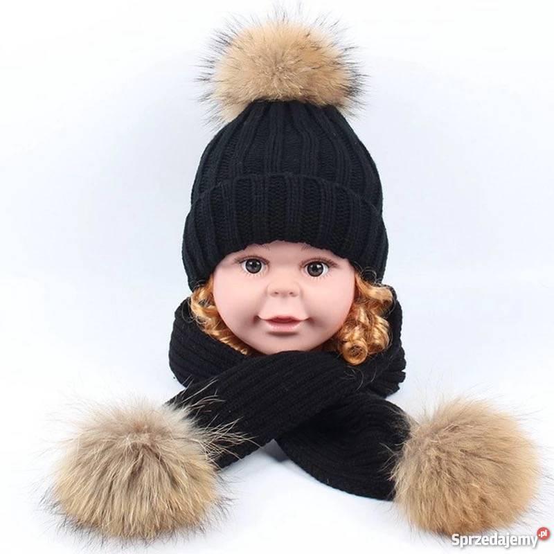 cb4fa516dd2905 komplet czapka szalik dla dzieci - Sprzedajemy.pl