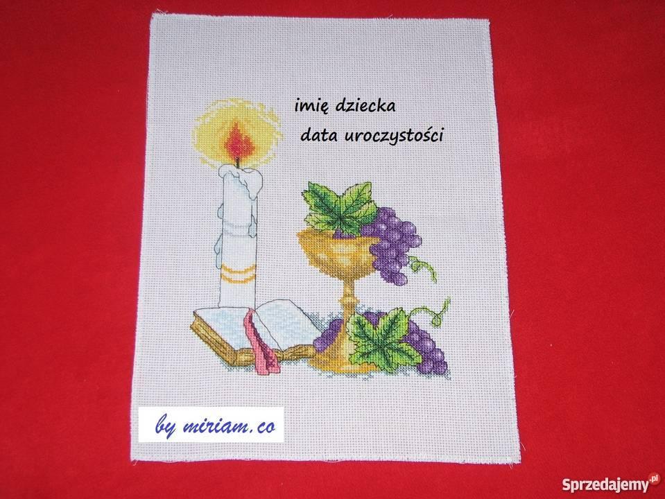 pamiątka kominii obraz haft prezent Dekoracje i ozdoby Czerwionka-Leszczyny sprzedam