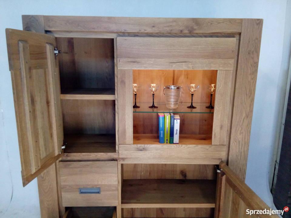 Nowa Drewniana Witryna Oświetlenie Led Habufa