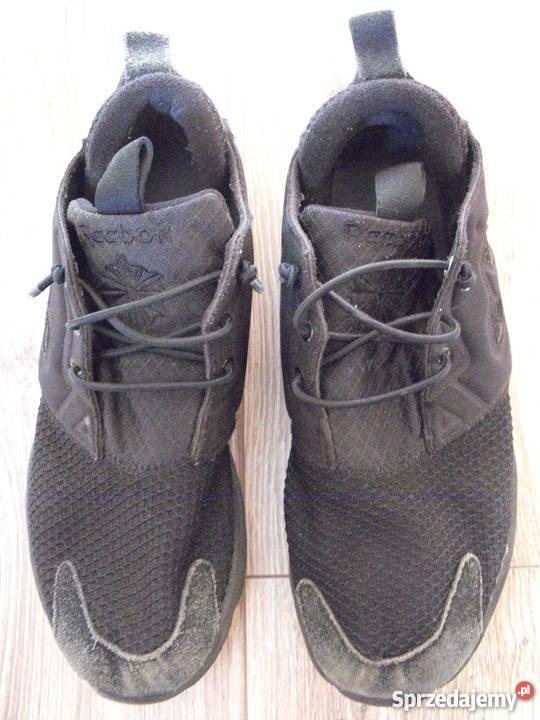 Buty REEBOK 3940 25.5cm Skóra* czarne sportowe stan BDB