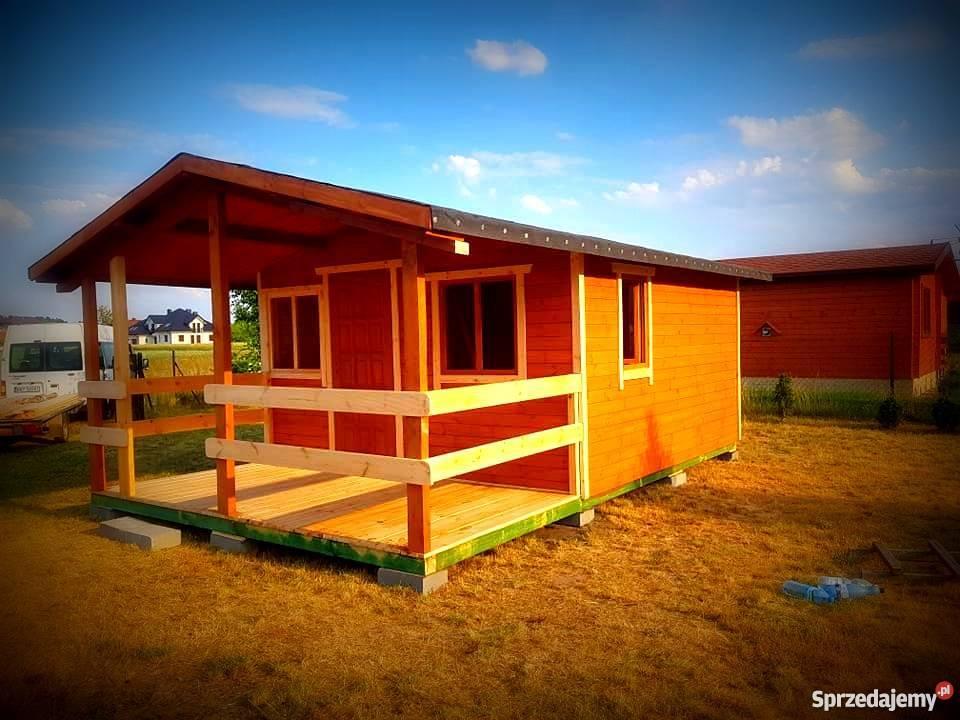 Altanka domek drewnianydomek letniskowy