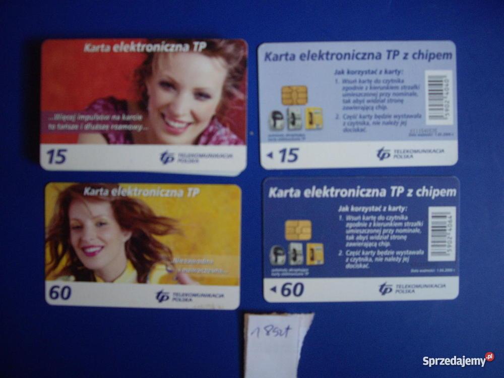 Karty telefoniczne chipowe Lubliniec