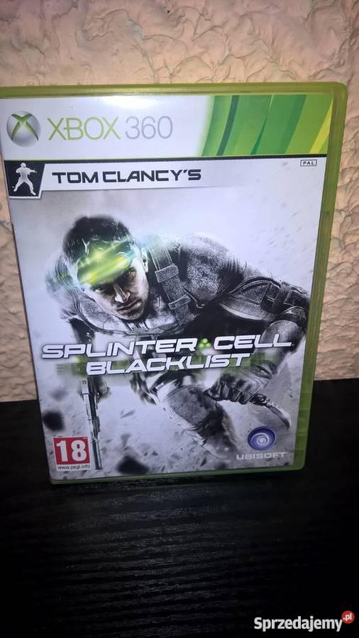 Splinter Cell Blacklist Xbox360 Kultura i Rozrywka Szczecin