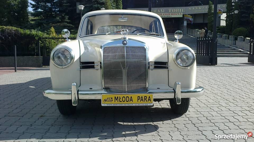 Zabytkowy Mercedes W120 z 1957 roku ślubywolne