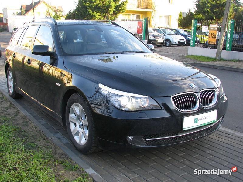 Nieuszkodzony BMW 525 E60 automatyczna skrzynia kujawsko-pomorskie Włocławek
