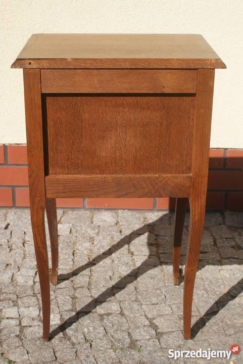 Drewniana komódka szafeczka stolik nocny styl 42cm Warszawa sprzedam