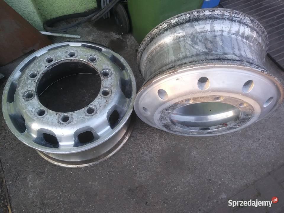 felgi aluminiowe MAN Scania Mercedes DAf