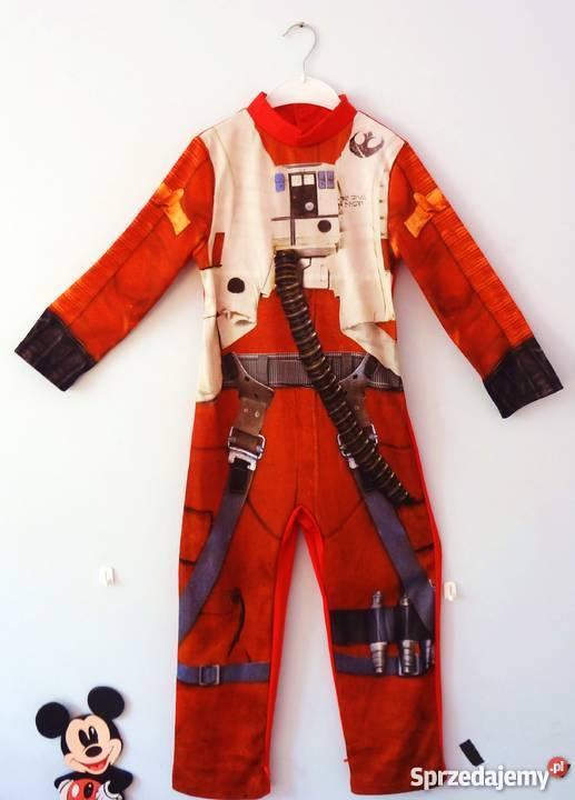 081c303365745d Star Wars Kostium dziecięcy PILOT XWING POE 5 6 kujawsko-pomorskie  Bydgoszcz sprzedam