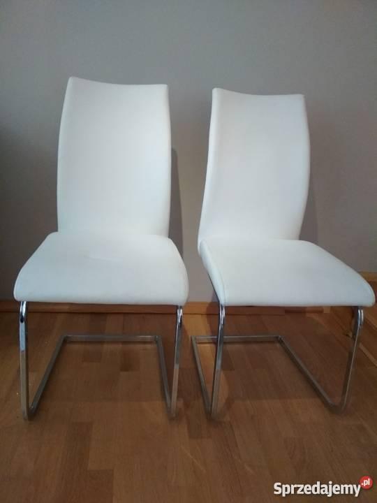Zupełnie nowe Nowoczesne Krzesła Tapicerowane - Białe Bydgoszcz - Sprzedajemy.pl FC36