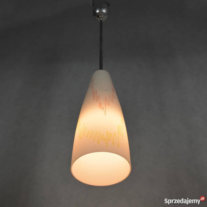 Piękna lampa wisząca lata 5060 Opole Sprzedajemy.pl