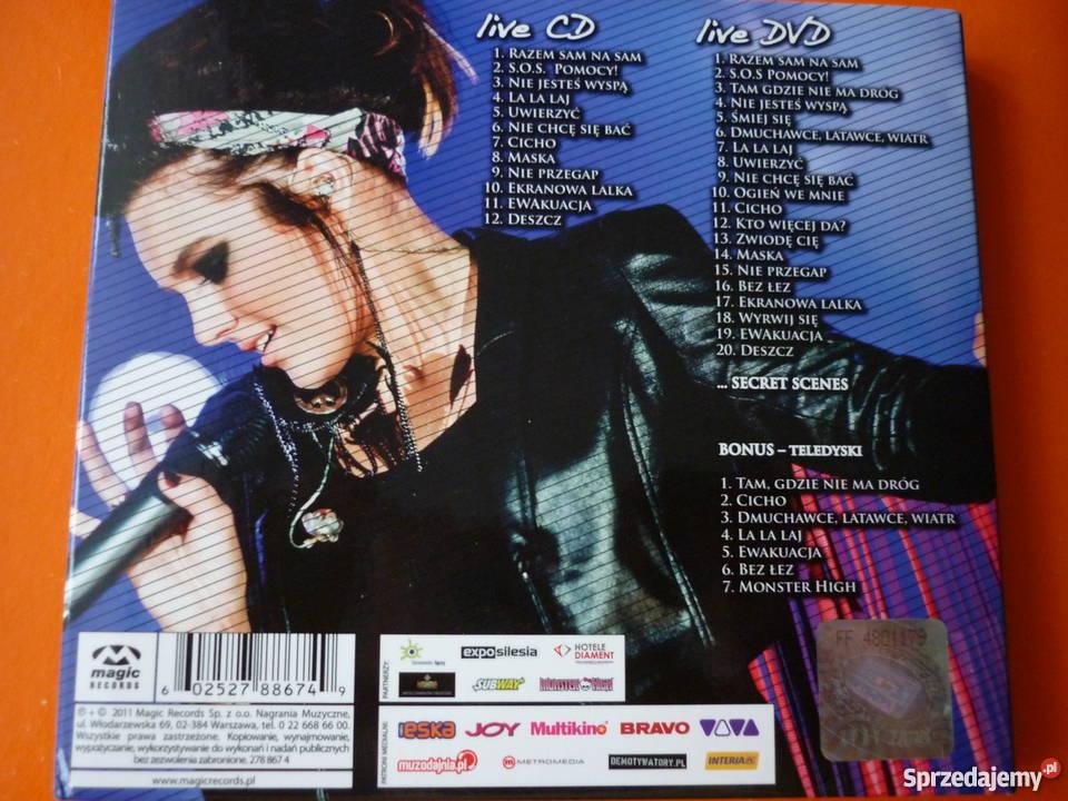 2 płyty CD DVD Ewa Farna live niezapomniany Warszawa
