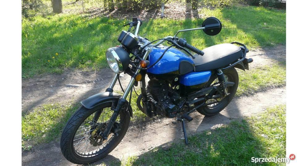 motocykl romet ogar caffe 125 radomsko. Black Bedroom Furniture Sets. Home Design Ideas