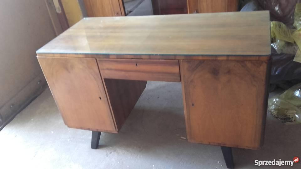 Biurko drewniane z lat 50 Nakło nad Notecią Sprzedajemy.pl