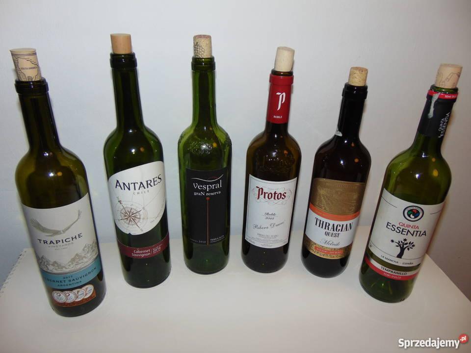 butelka butelki na wino 075L