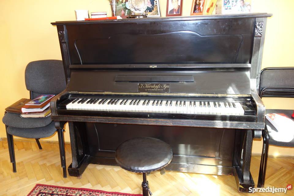 Doskonałe Pianino przedwojennej marki Skierniewice