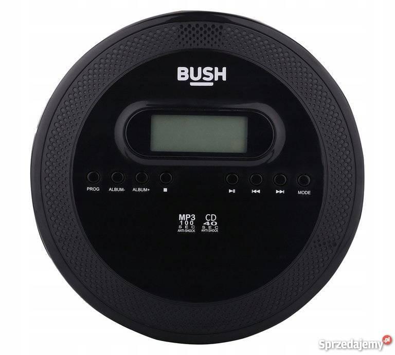 Sprzedam Discman Odtwarzacz CD MP3 Bush Muzyka Słuchawki.