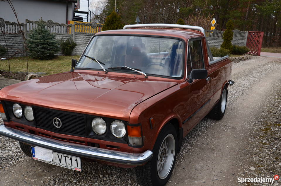 Super Fiat 125p PICKUP Daleszyce - Sprzedajemy.pl IN82