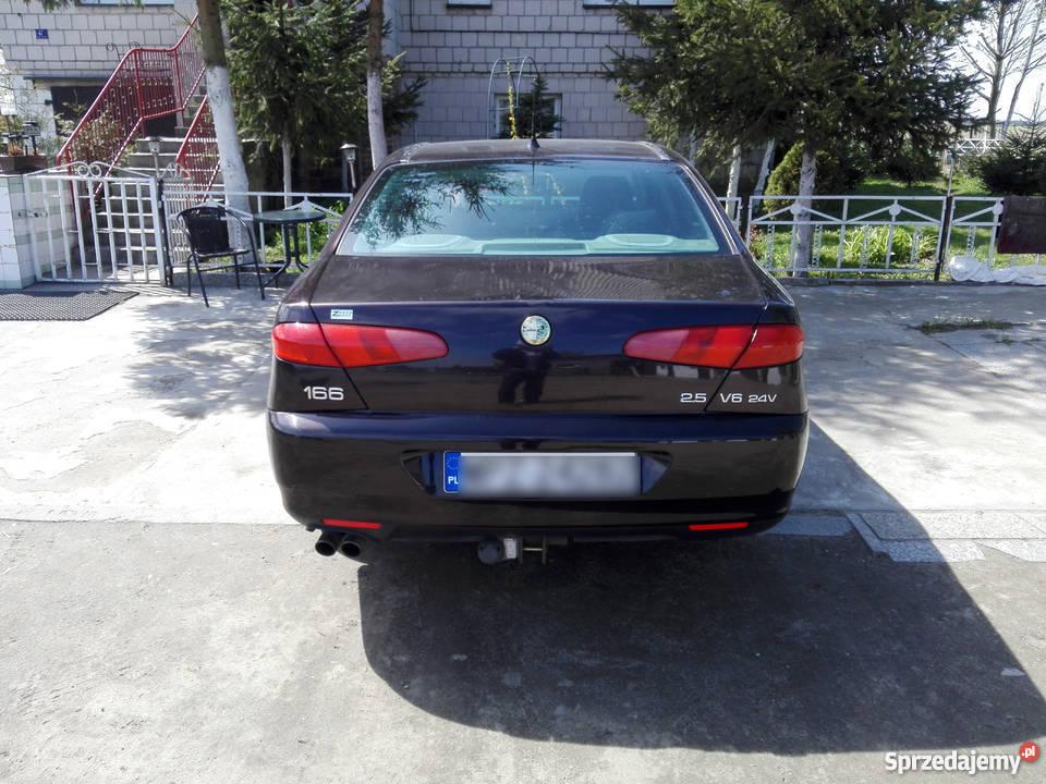 alfa romeo 166 2.5 v6, piękna i szybka limuzyna krasne - sprzedajemy.pl