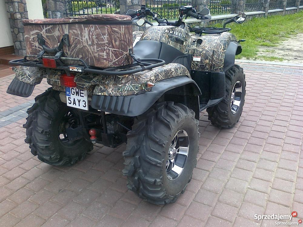 Quad yamaha grizzly 660 2006 camo for 2006 yamaha grizzly 660 value
