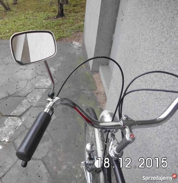 Lusterko do roweru stylowego Nowe chromowane