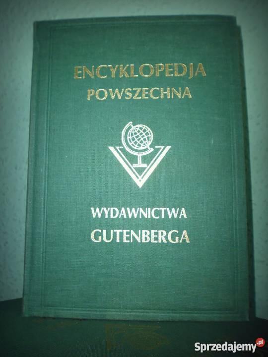 Ilustrowana Encyklopedia Gutenberga śląskie Katowice sprzedam