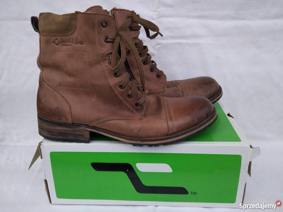 2f79dcb9 Reserved buty męskie rozmiar 45 ocieplane zima skórzane. Dęblin ...