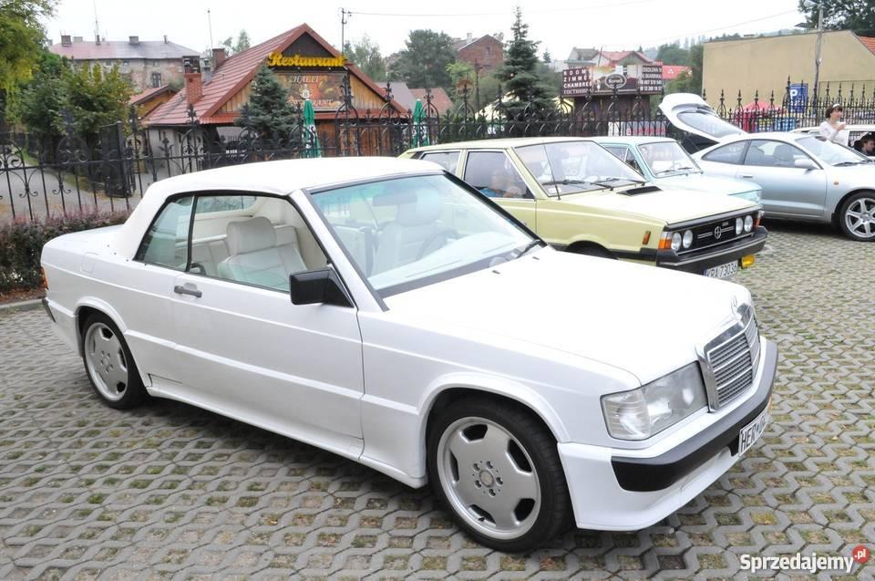 Mercedes-Benz 190E SCHULZ 2 3-16 KABRIOLET w201 !! Kraków - Sprzedajemy pl