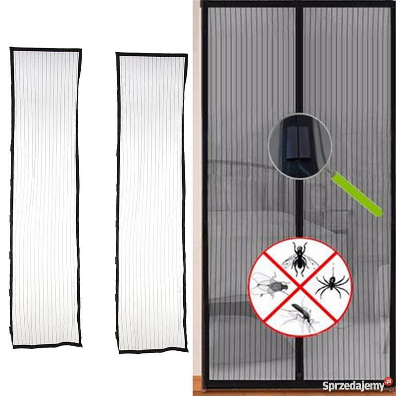 Moskitiera Na Drzwi Magnetyczna 210x100 Magnesy