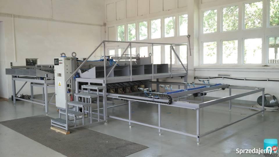 Tylko na zewnątrz maszyna do produkcji siatki - Sprzedajemy.pl RW18