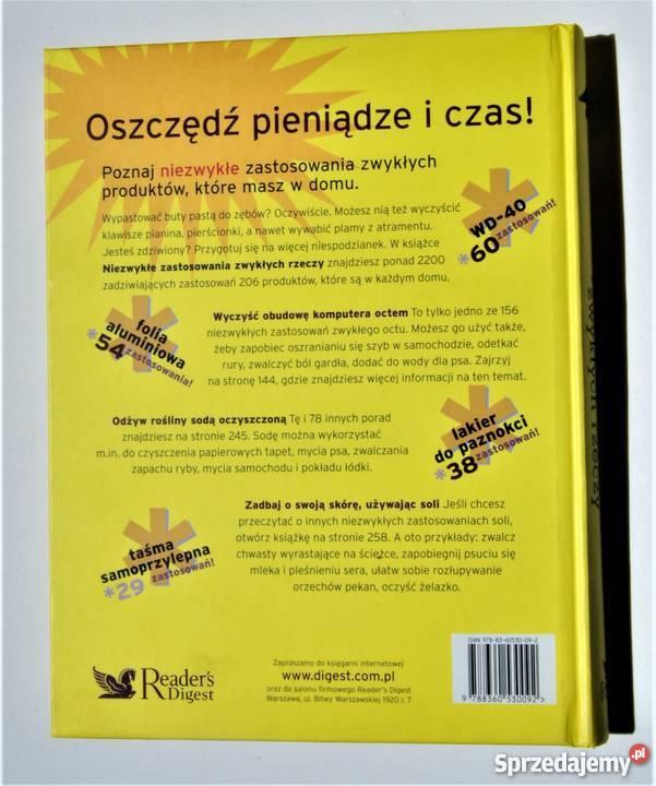 NIEZWYKŁE ZASTOSOWANIA ZWYKŁYCH RZECZY Warszawa