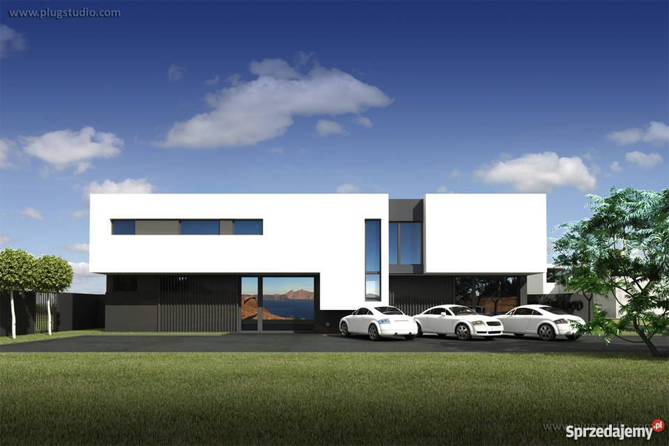Projekt PS-SS-U00 nowoczesny budynek biurowo-usługowy EKO