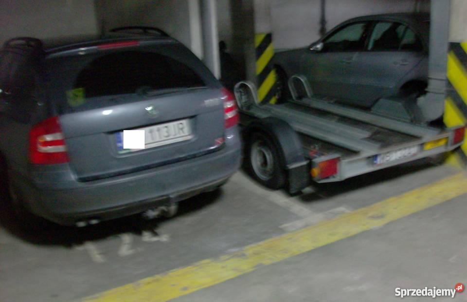 Ochota garaż 50 zł strzeżony podziemny wygodny