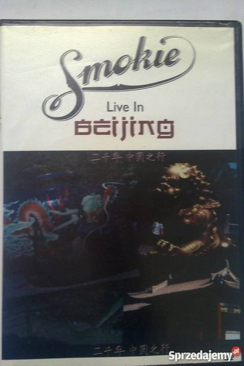 Smokie Live In Beijing Płyta DVD Warszawa