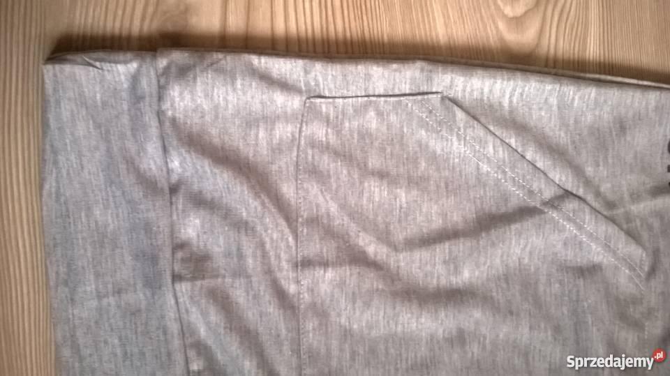 bfdf2279fb Sukienka sportowa z kapturem szara S M NOWA Spódnice i sukienki Sierpc
