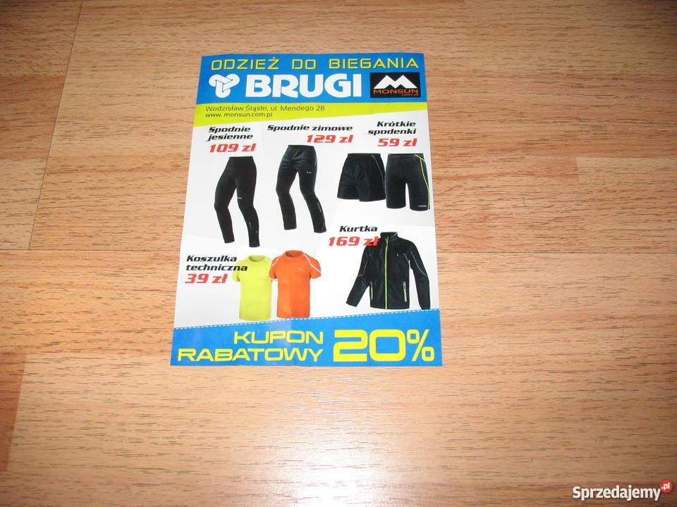 Bon na odzież biegową BRUGI Chorzów