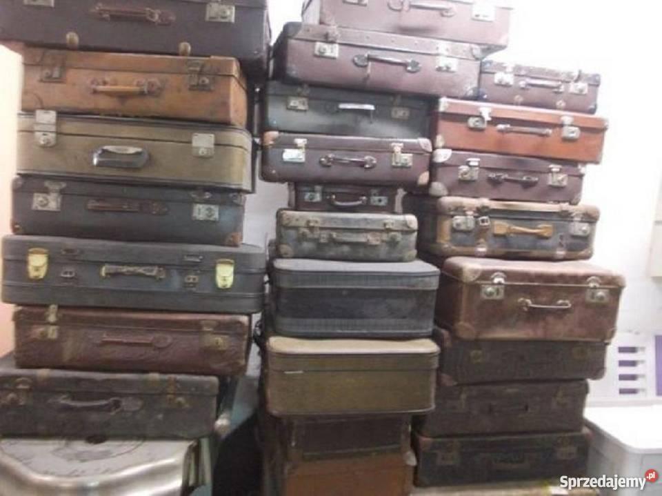 eaeded1882775 Stare walizki 40 szt. vintage Bielsko-Biała - Sprzedajemy.pl