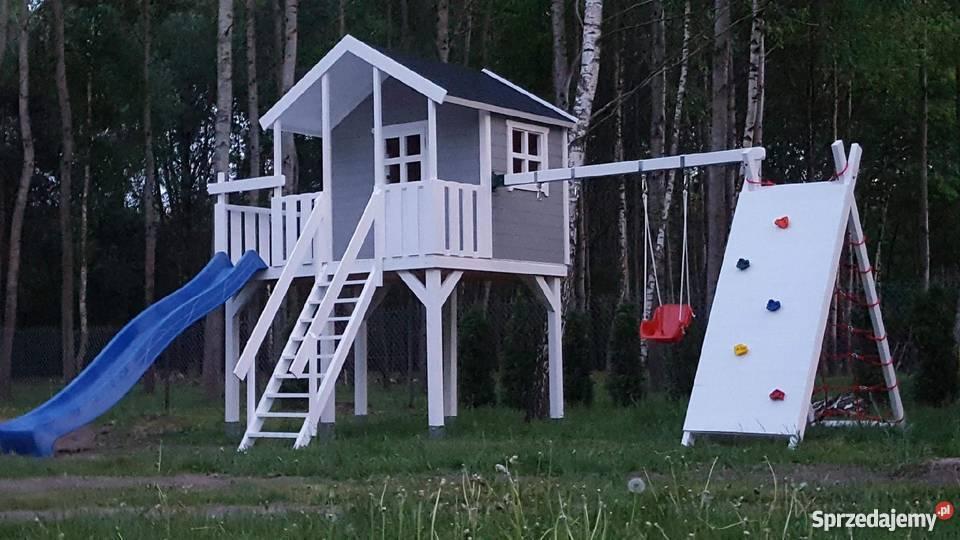 Niesamowite domek drewniany, domek dla dziecka , plac zabaw Grodzisk DK96