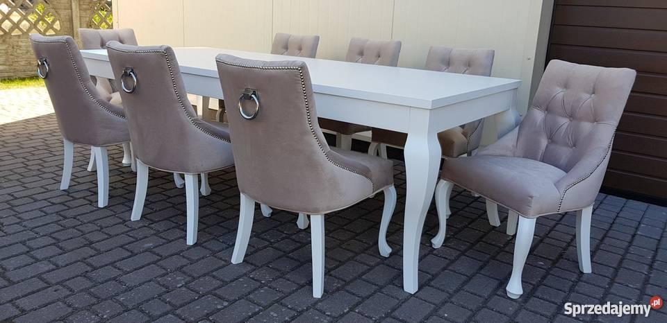 Krzesło nowoczesne tapicerowane pikowane z pomorskie Starogard Gdański