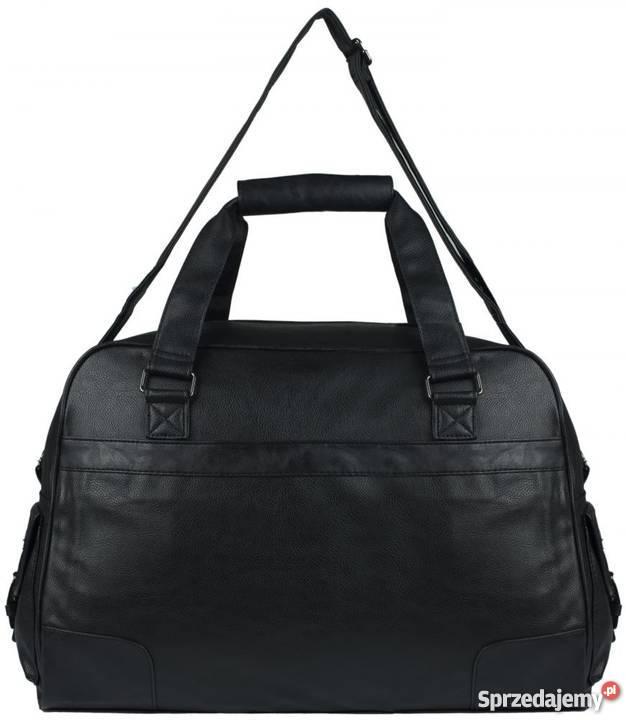 f548810d426cd Czarna torba podróżna bagaż podręczny Warszawa - Sprzedajemy.pl