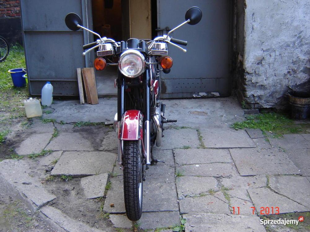 Jawa CZ 350 śląskie Chorzów