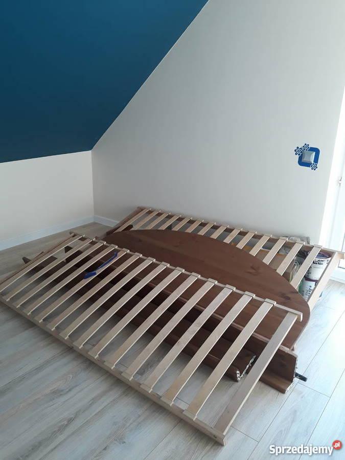 Sprzedam łóżko Drewniane Ikea Jak Na Zdjęciach
