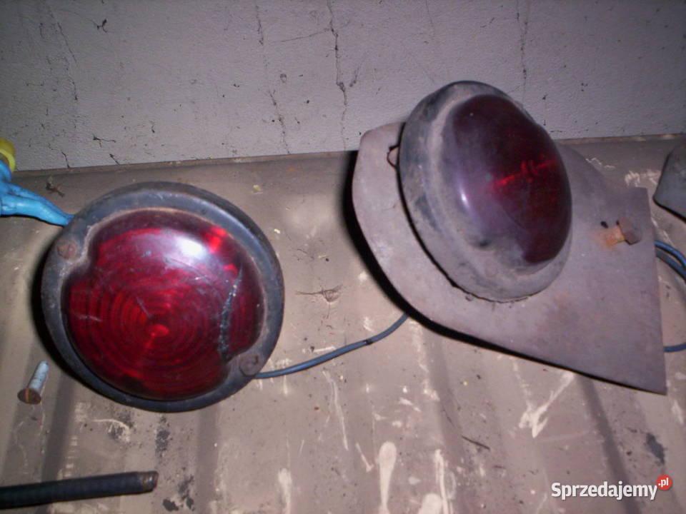 Lampa szkło do starego rosyjskiego ciągnika traktor CCCP
