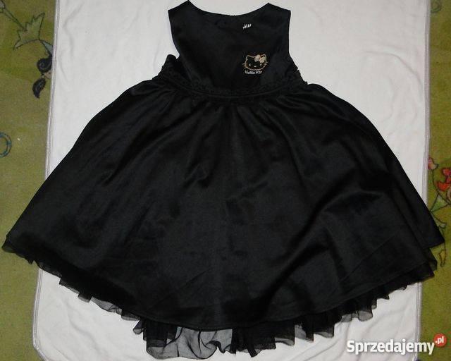 69783cb7d3 Sukienka tiulowa uroczysta HM dziewczynka 98104 czarny mazowieckie Iłża