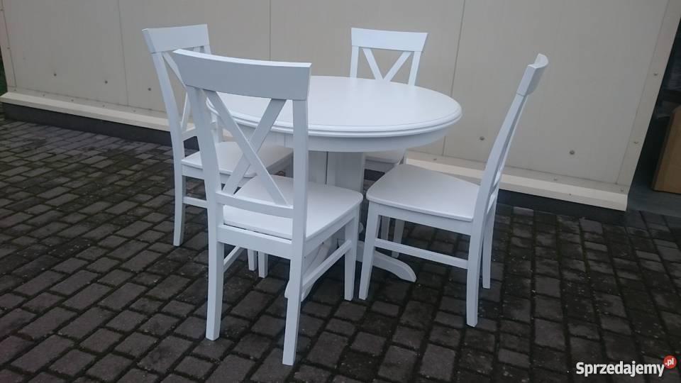 Nowoczesne krzesło krzyżak modne prowansalskie skandynawskie