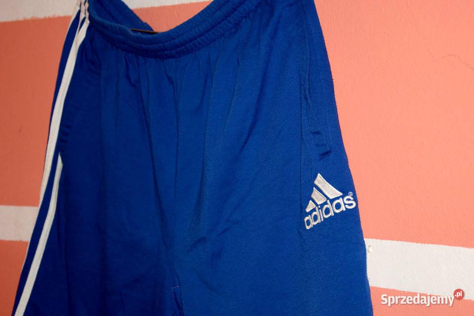 NIEBIESKA Koszulka Polo + Spodenki ADIDAs