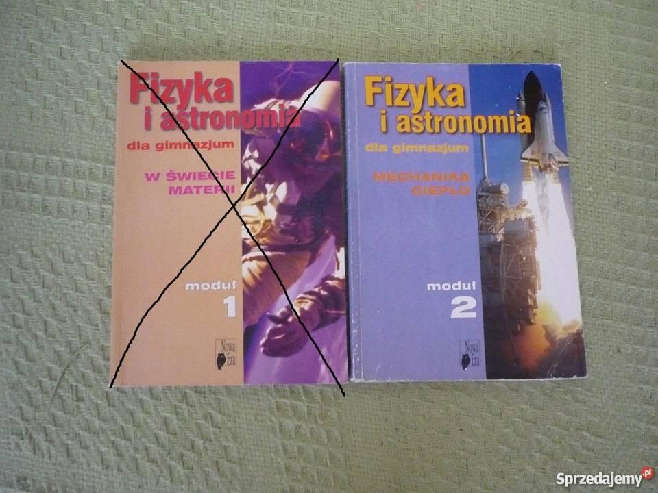 podręczniki fizyka i astronomia dla gimnazjum