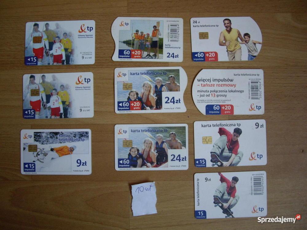 Karty telefoniczne chipowe sprzedam