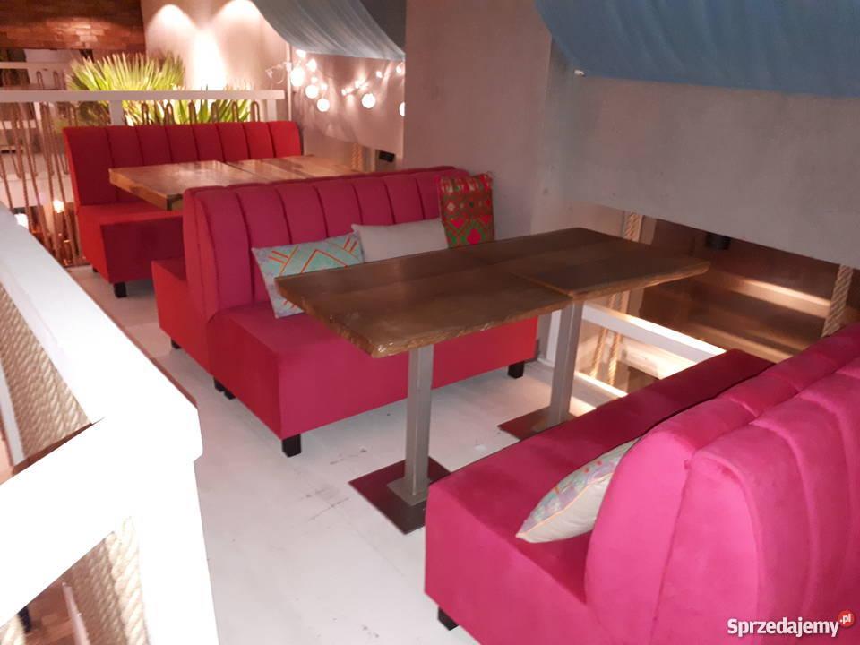 loże boksy meble do lokali sofy kanapy Gastronomia Częstochowa