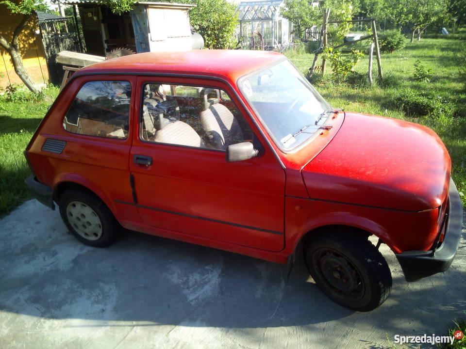 Sprzedam Fiat 126p nieuszkodzony małopolskie